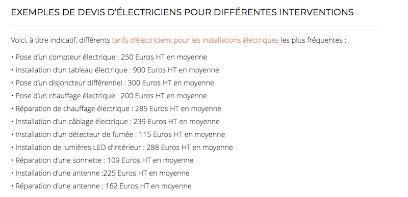 trouver un électricien attention au web