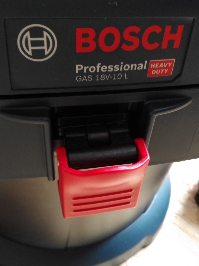 Avis sur l'aspirateur à batterie 18V Bosch