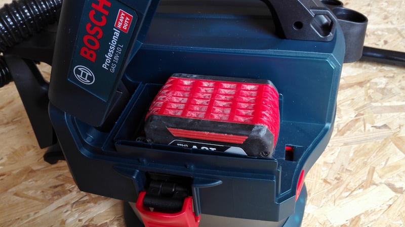 avis achat aspirateur de chantier Bosch sans fil