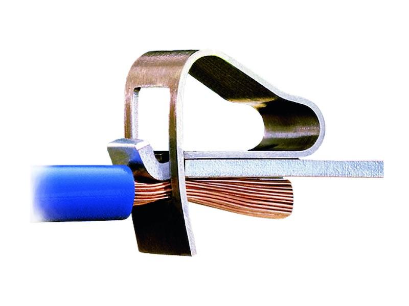 connexion électrique bornier wago 6mm2