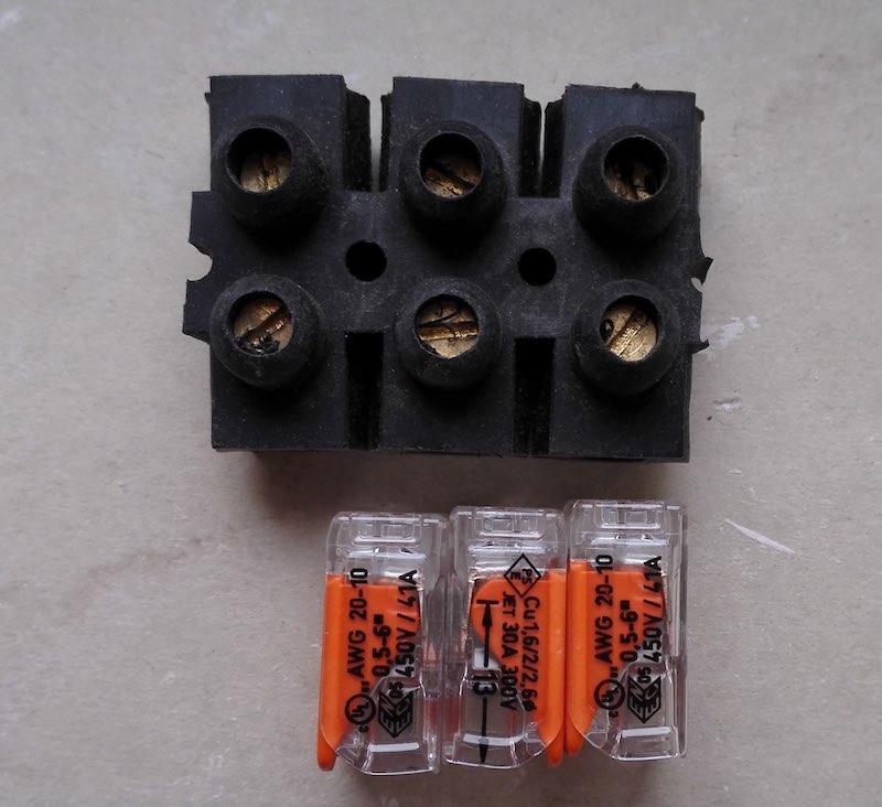 choisir un wago pour cabler un fil en 6mm2