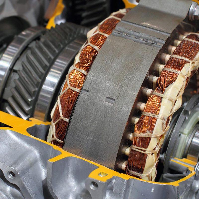 moteur bobinage électron fonctionnement