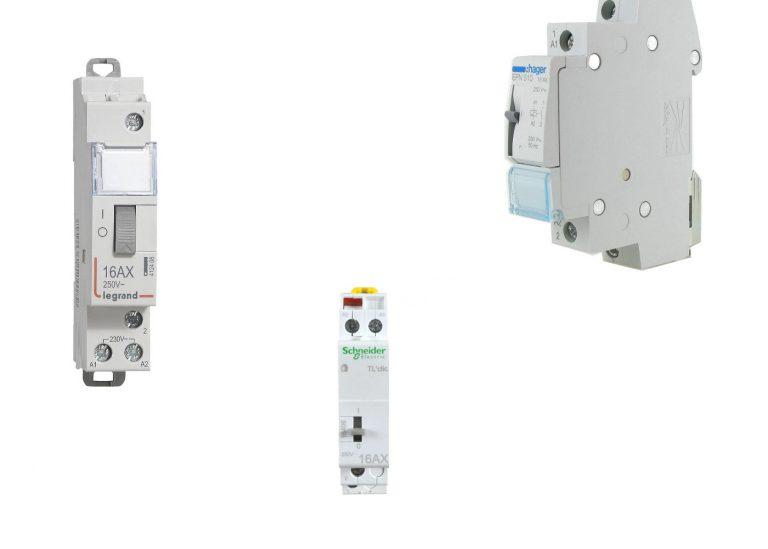 Le Télérupteur: schéma, symbole, plan et cablage électrique