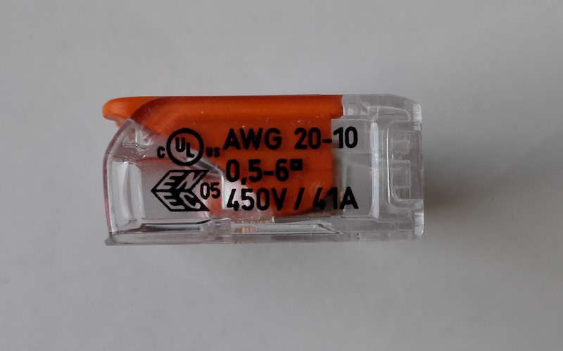 wago test connecteur à levier 6mm2