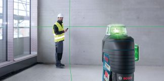 niveau laser vert bosch gll 3 80