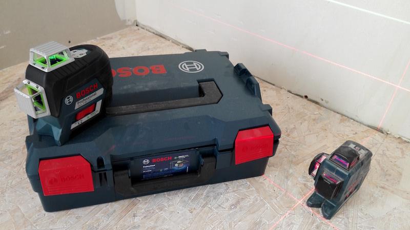 comparatif achat niveau Laser Bosch vert gll 3