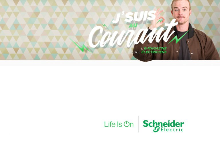E-magazine de Schneider Electric: Un peu d'humour dans ce monde de brutes