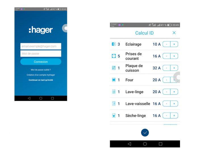 Hager Ready: Une application pour votre tableau électrique
