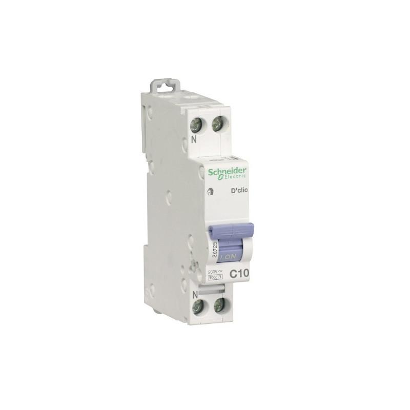 disjoncteur frigo ampérage 10A