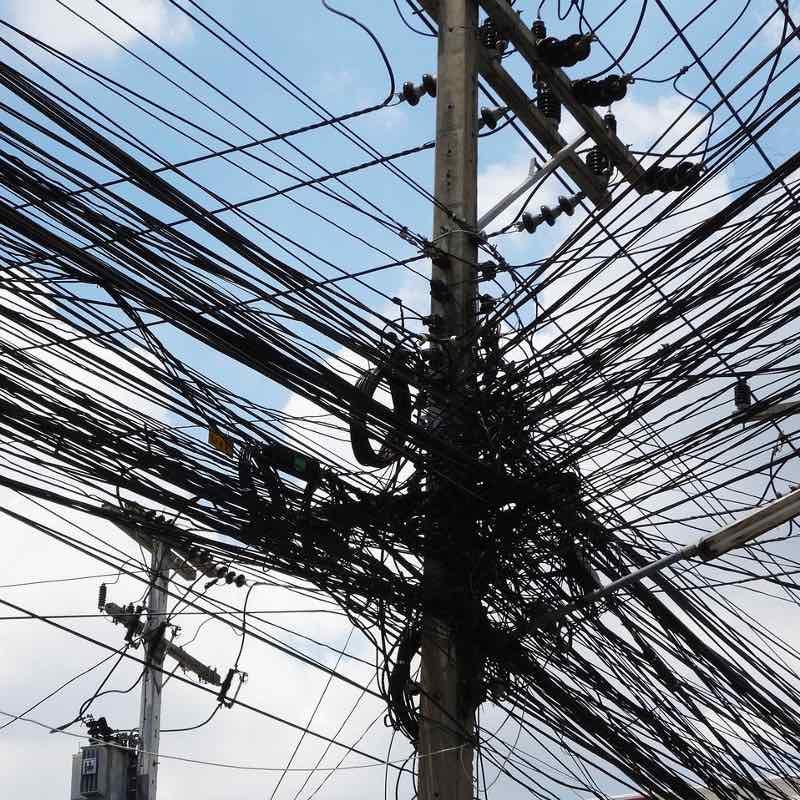 câblages électrique dangereux