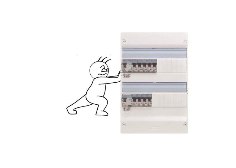 Déplacer le tableau électrique: explications et principe