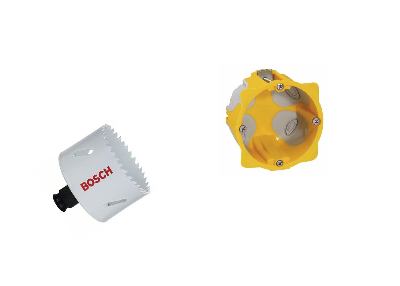Diametre Scie Cloche Prise De Courant diamètre de perçage pour une prise électrique: 67 ou 68mm? -