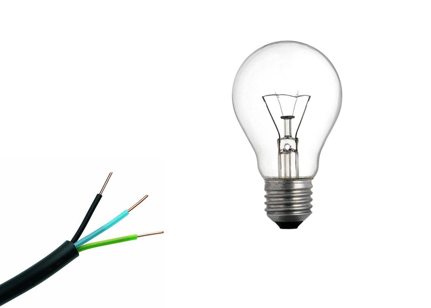 Combien De Metre De Fils Electrique Pour Une Maison circuit d'éclairage câblé en 2,5mm2: autorisé et conforme à