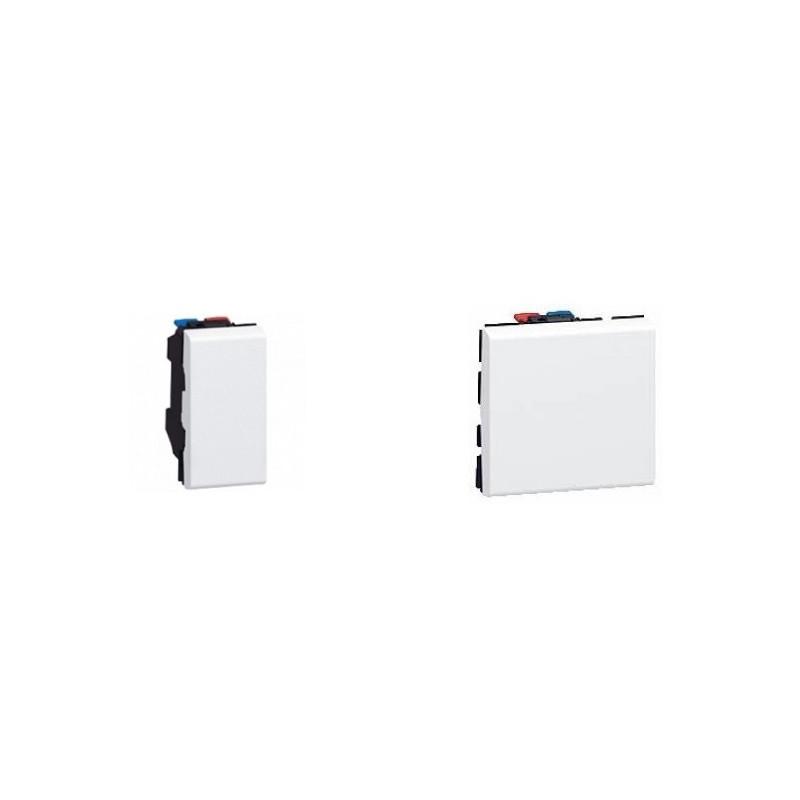 taille module appareillage électrique Legrand
