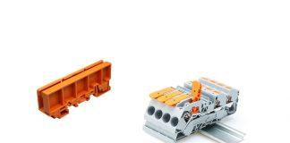 test Wago TopJob S et support de bornier sur rail