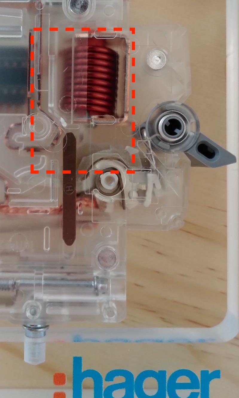 bobine disjoncteur électrique