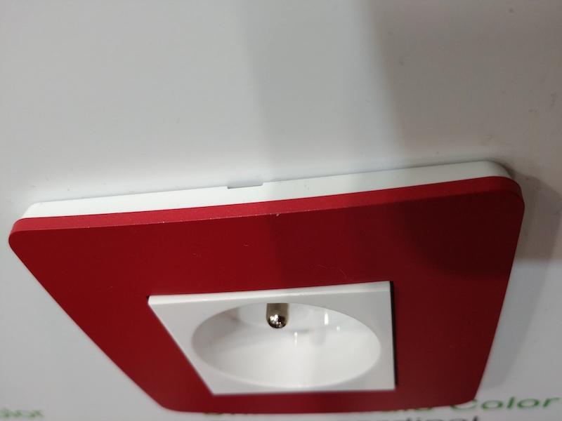 Design appareillage électrique de couleur Schneider