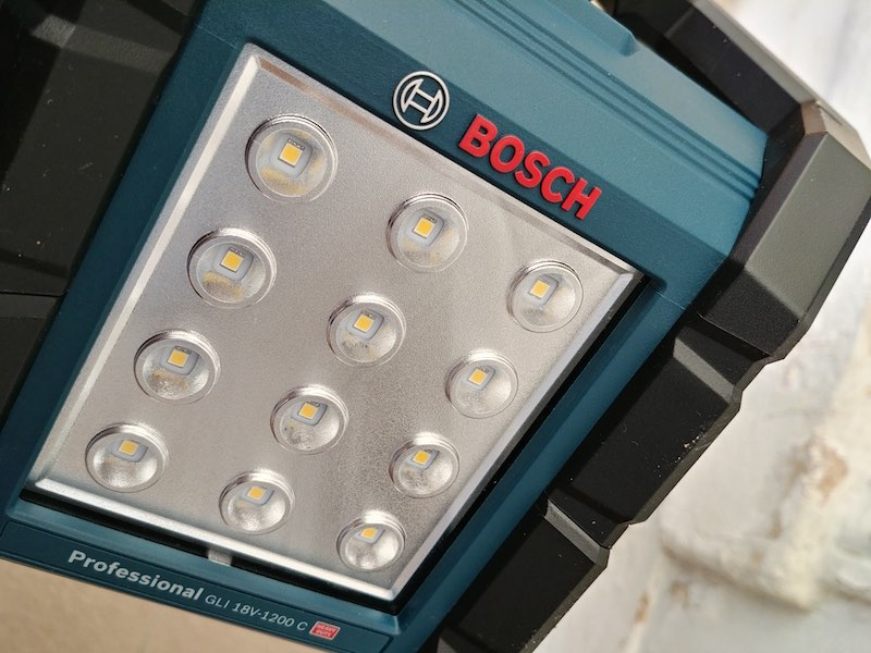 avis achat du Projecteur Led Bosch GLI 18V 1200C
