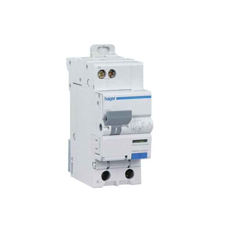 Branchement électrique de la chaudière avec un disjoncteur différentiel