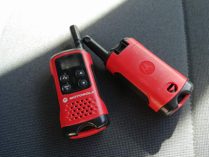 talkie walkie Motorola TLKR T40 avis