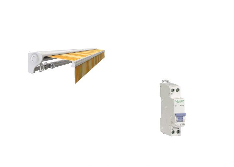 Branchement du store banne: matériel et schéma électrique