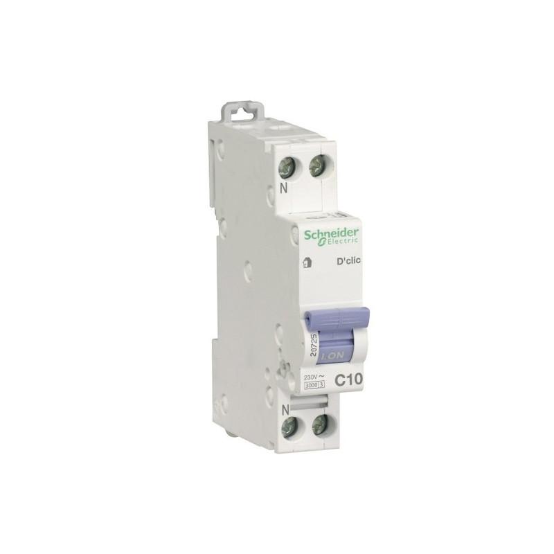 protection électrique disjoncteur 10A store banne