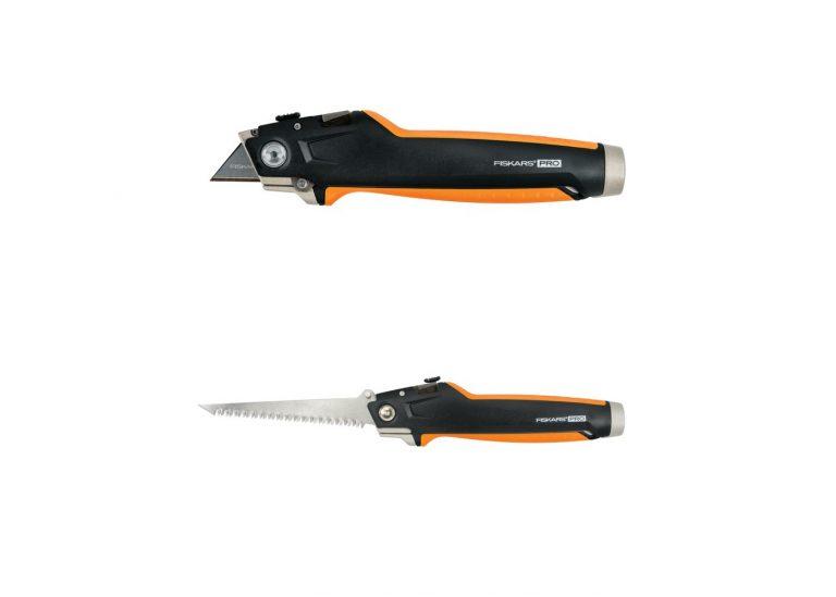 Test scie placo cutter Fiskars Pro, un outil 2 en 1