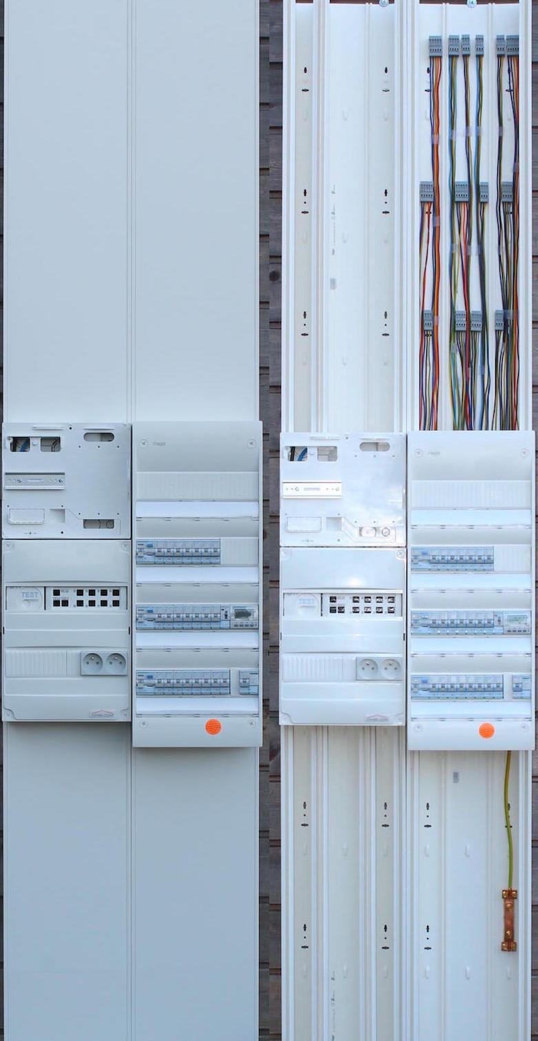 bloc GTL précâblé pour connexion des pieuvres électriques