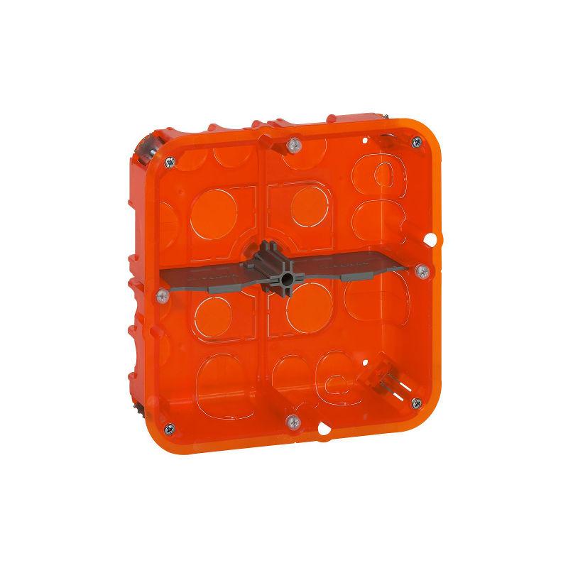 installer une boite d'encastrement carrée