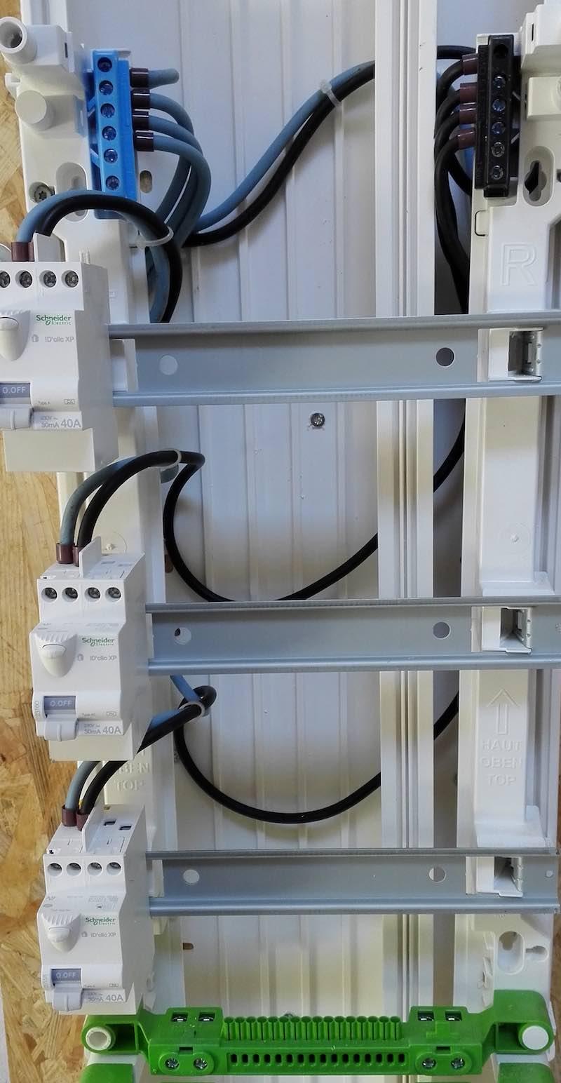 câbler le tableau électrique, comment faire?