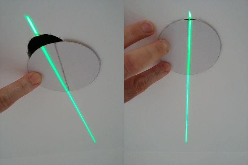 test et installation d'un spot SLV
