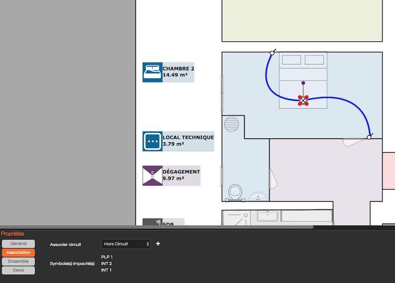 logiciel pour création de plan électrique