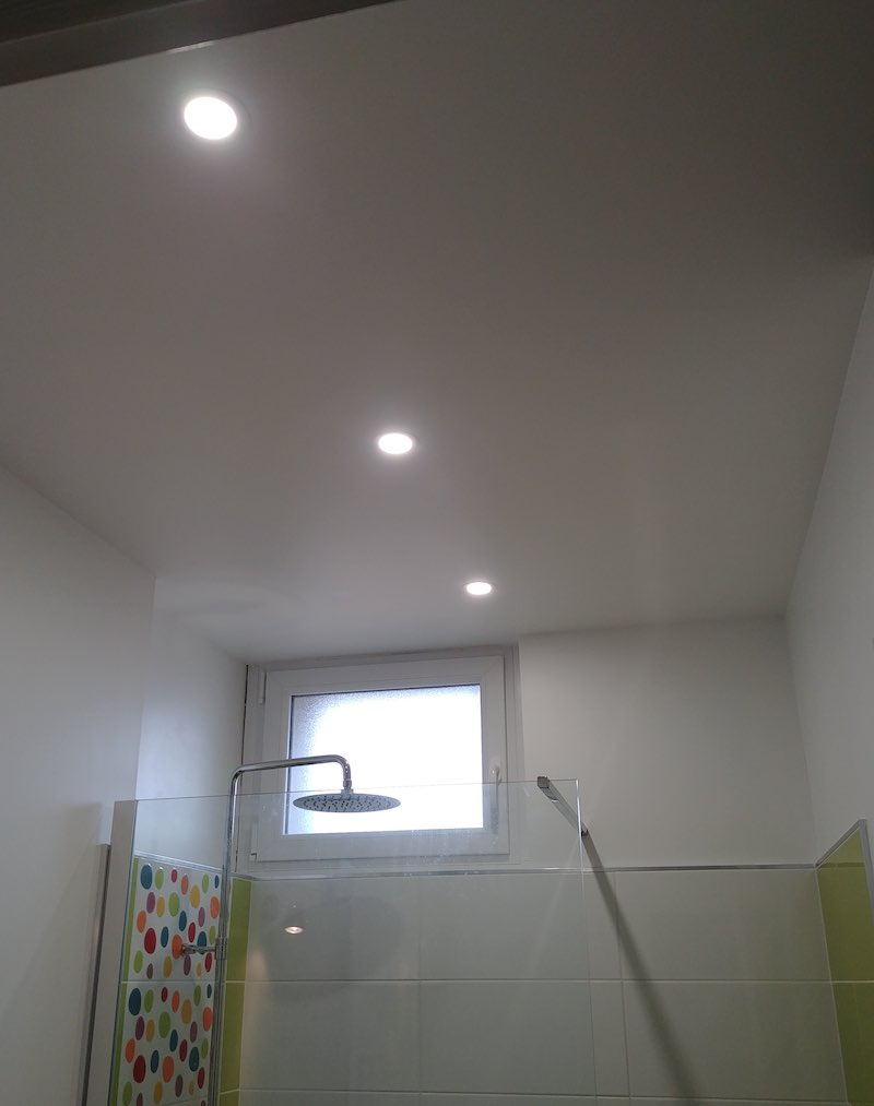 sot salle de bain, exemple d'installation