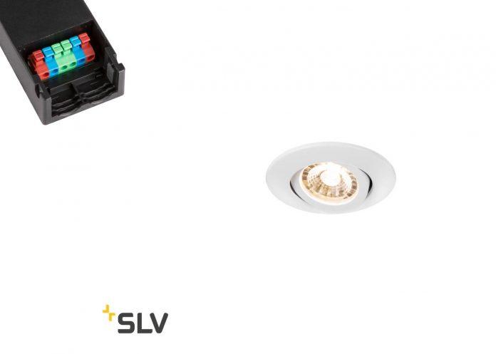 test installation spot Easy install slim led de la marque SLV