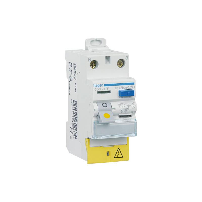 interrupteur différentiel 30mA type AC