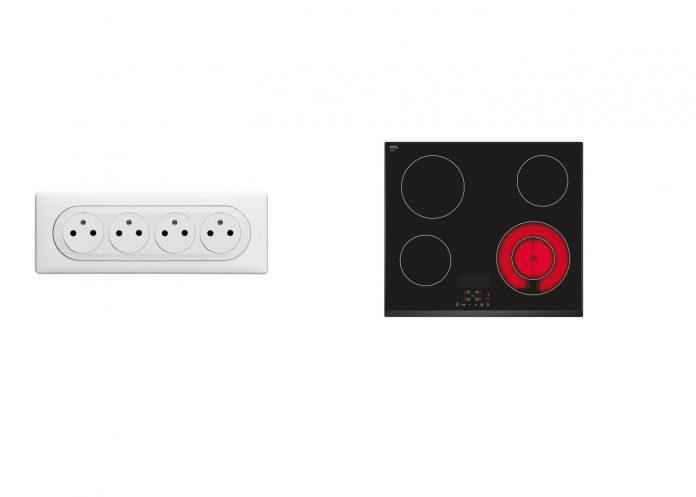 Ajouter des prises électriques sur le circuit plaque de cuisson