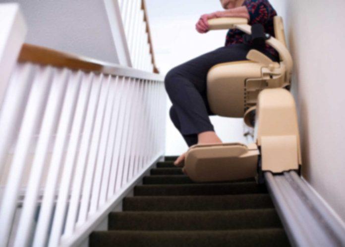 Branchement électrique du monte escalier