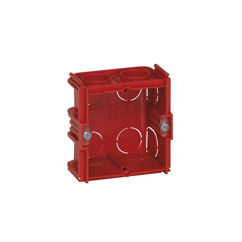 comment encastrer une boite électrique dans une cloison de 40mm d'épaisseur