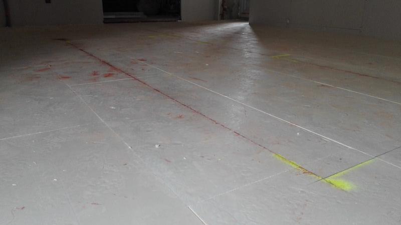 explication pose de plancher chauffant électrique au sol