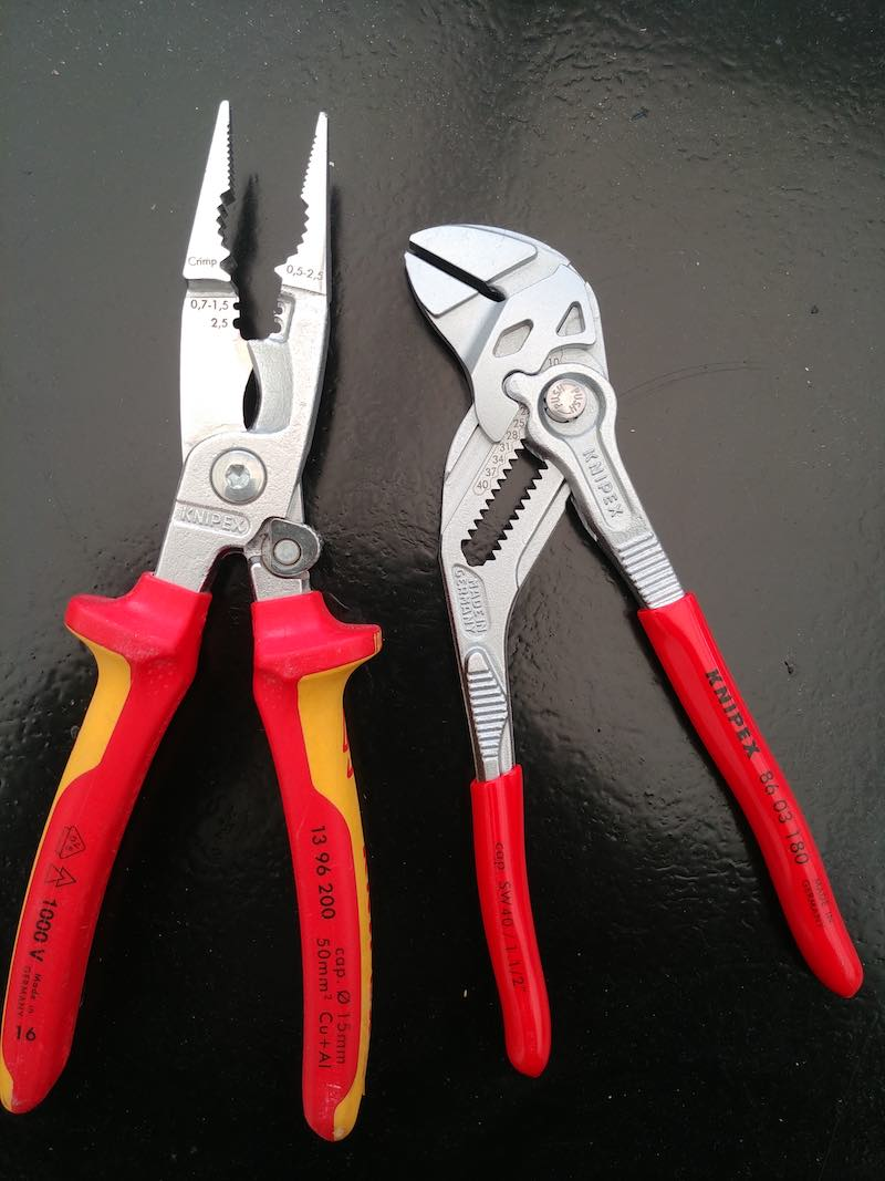 choix pince multiprise knipex