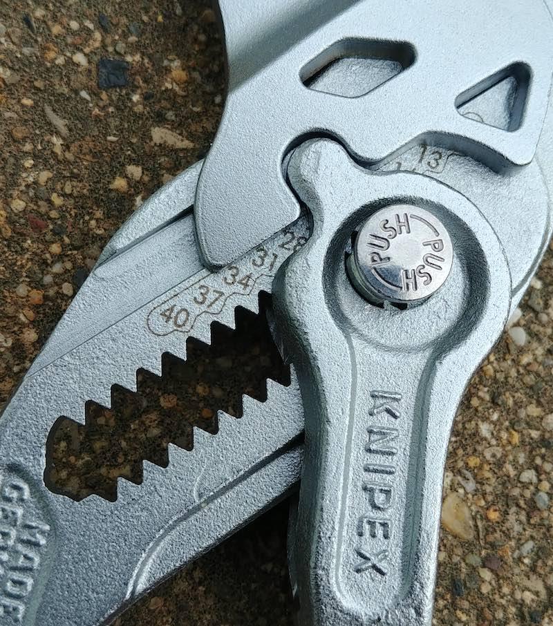 clé de serrage Knipex, avis utilisateur