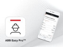 application pour électricien ABB Easy Pro