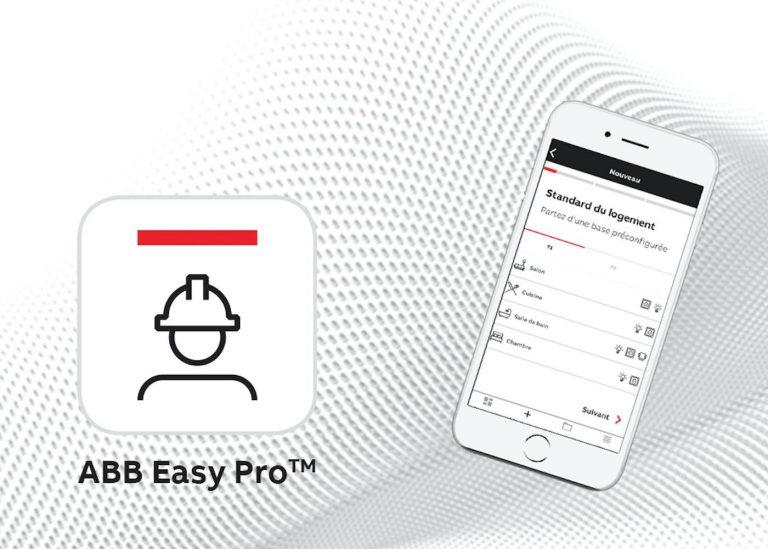 ABB Easy Pro, test de l'application ABB pour électricien et utilisateurs