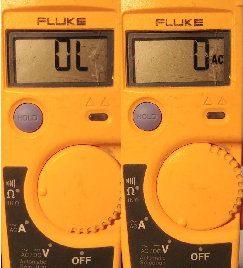 mesurer la tension et tester un disjoncteur