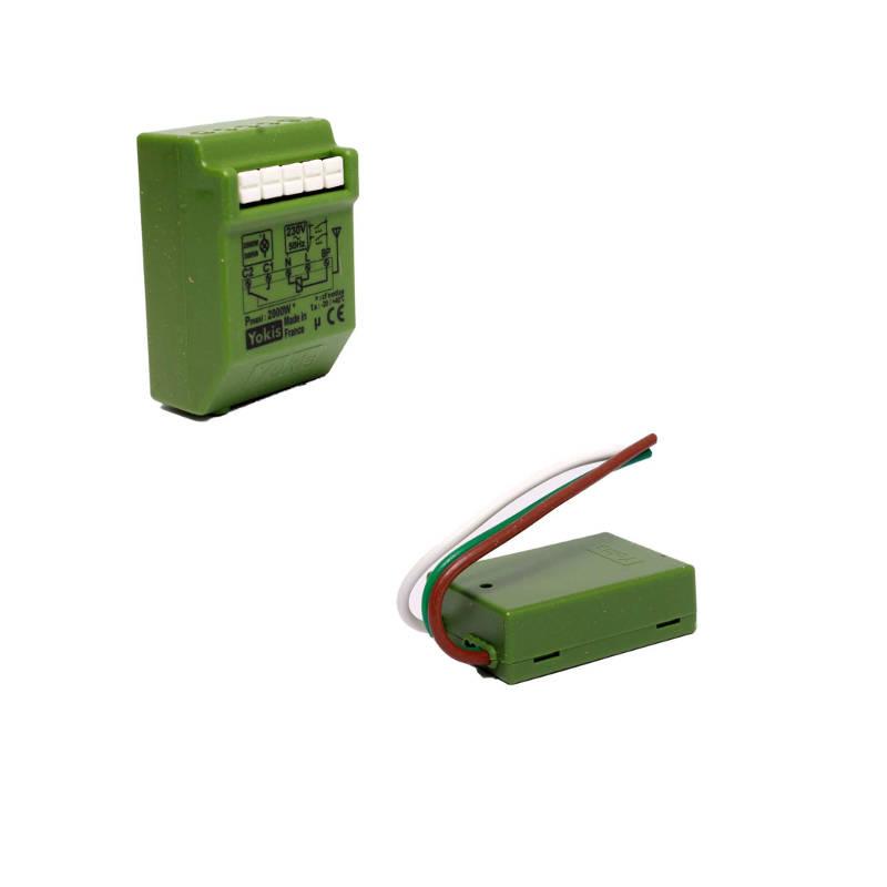 modification circuit prise électrique en prise commandée
