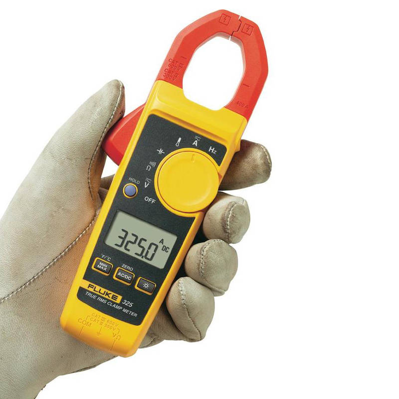 Utiliser une pince ampèremétrique pour mesurer le déséquilibre de tension