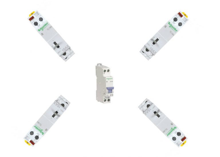 Brancher plusieurs télérupteurs sur un seul disjoncteur