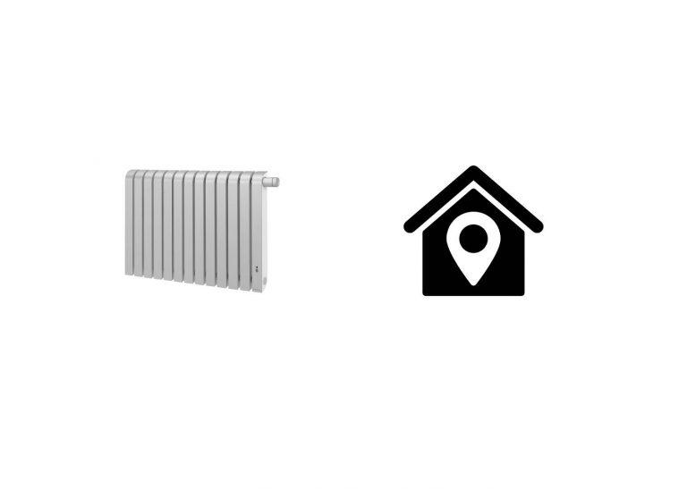 Comment positionner les radiateurs électriques muraux?