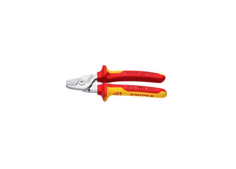 Test de la nouvelle Pince coupe câble Knipex 9516160
