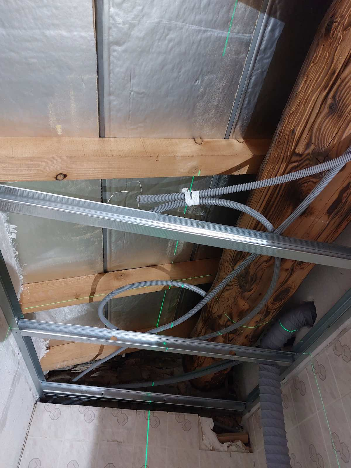 gaine ICTA pour spot en faux plafond